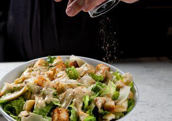 Caesar Salad with Pepper