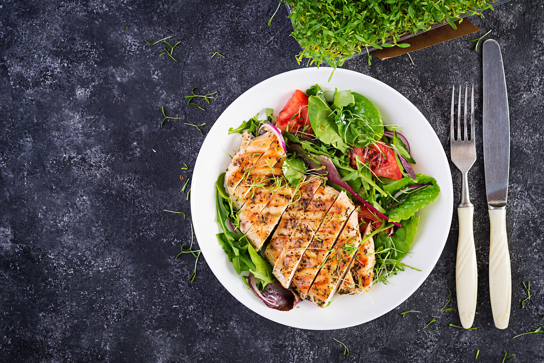 chiclen salad